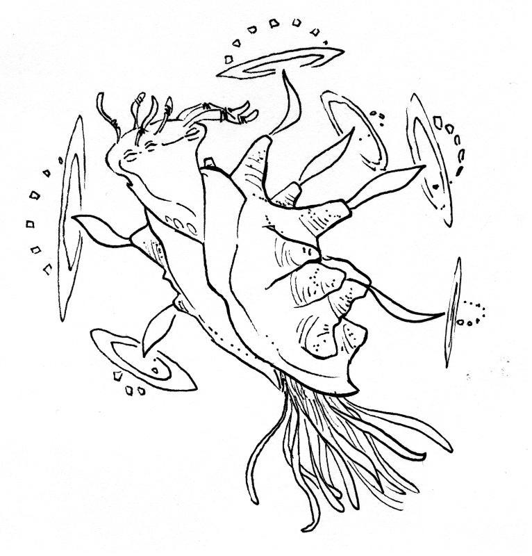 Undersea Creatures 3 by phodyr