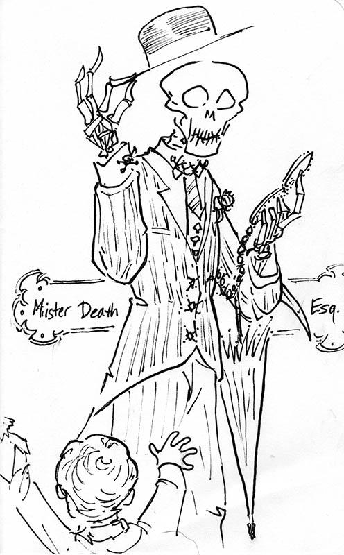 Mr Death Esquire by phodyr
