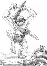 Happiest stone troll