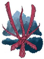 Devourer kraken cult symbol