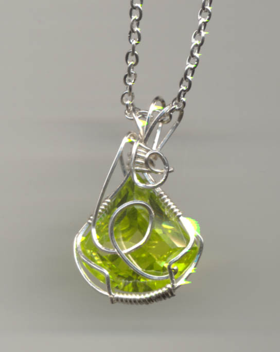 Peridot drop by Anorontarien