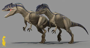 carcharodontosaurus by epic3d