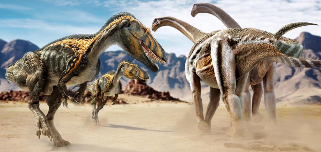 Torvosaurus vs Camarasaurus