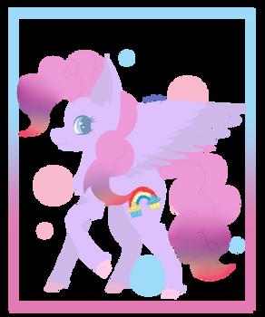 Pinkie Pie/ Rainbow Dash Fusion