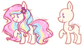 Pastel pegasus adopt +CLOSED+ by Melly-fox