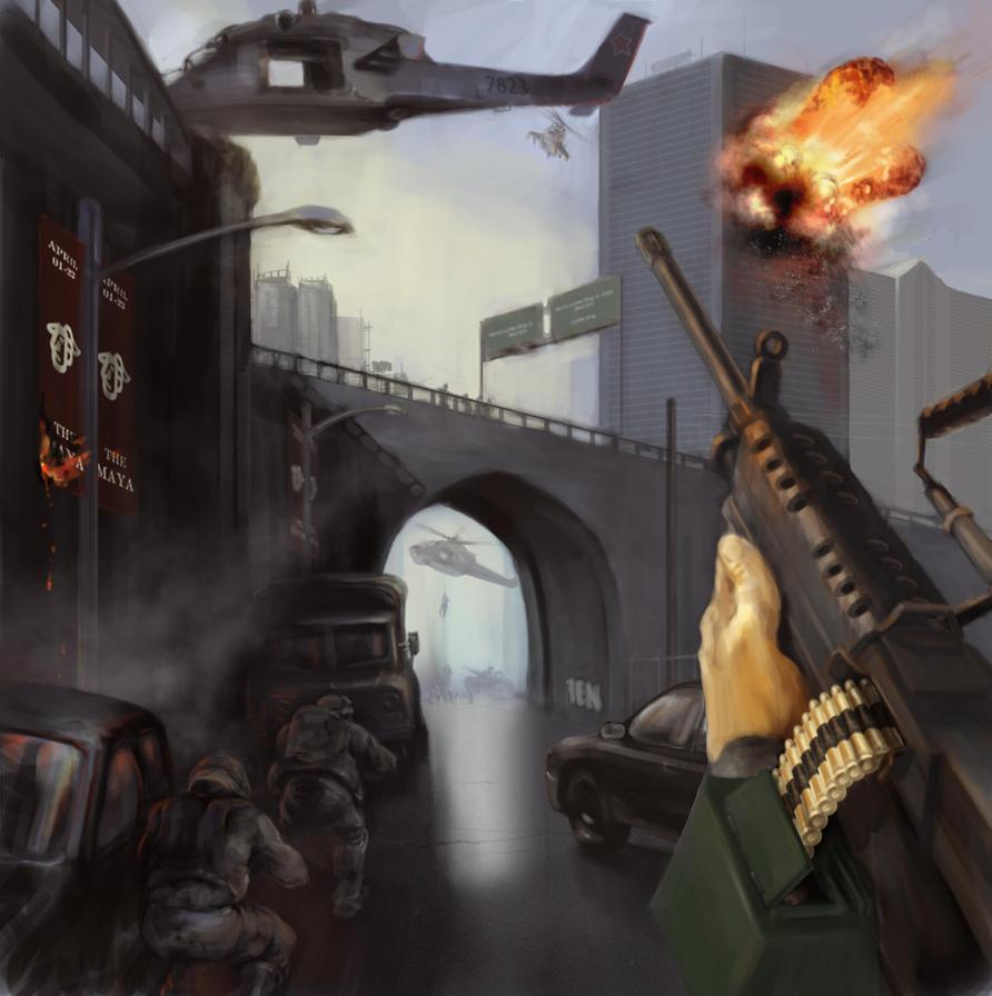 Urban Warfare by Estrada