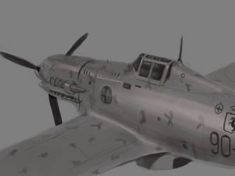 Macchi C.202 Folgore by Estrada