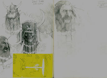 Warhammer Inspired Chaos Dwarves by RRJones