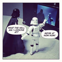 Vader is watching Spaceballs NOW by EmpireStripsBack