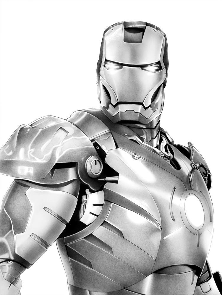 Iron Man by corysmithart