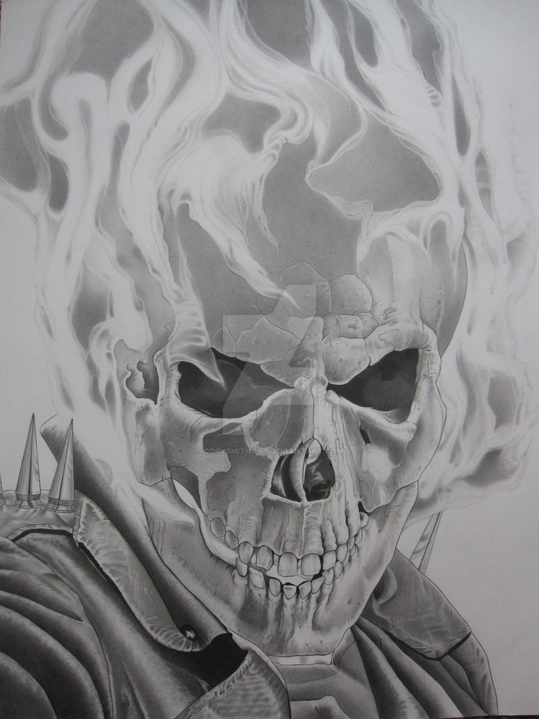 THE GHOST RIDER by corysmithart on DeviantArt