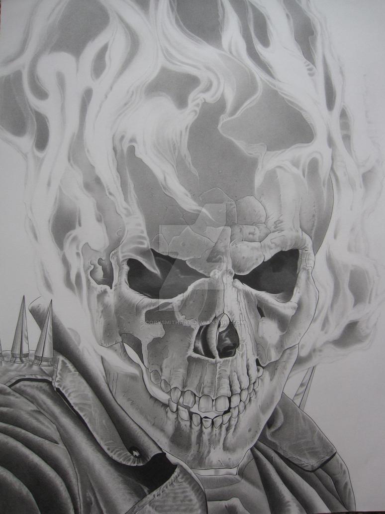 The ghost rider by corysmithart on deviantart