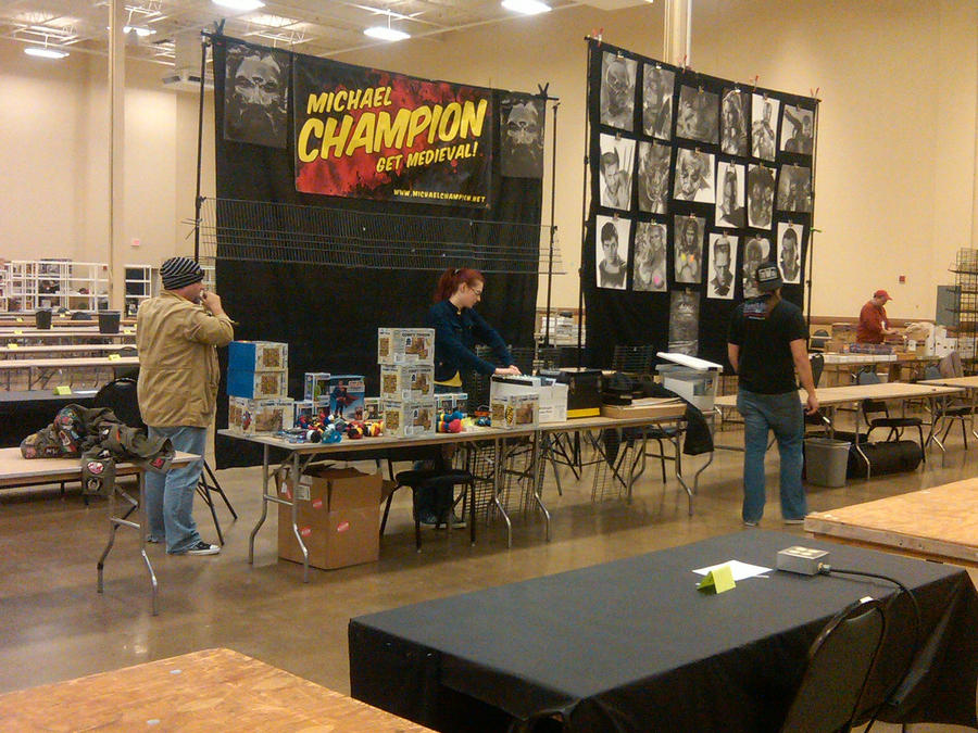 Our tables at the pittsburgh steel city con 2012 by for Fish store pittsburgh