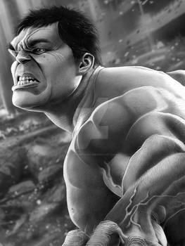Hulk Final with Background