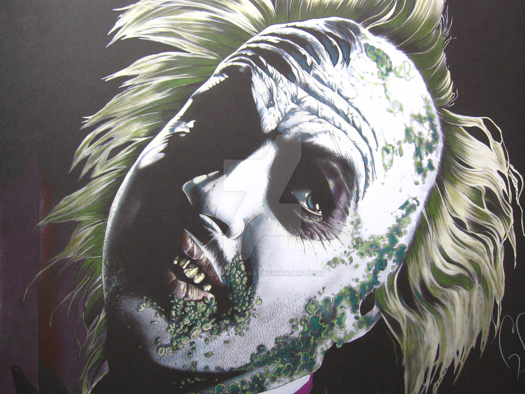 Fully colored Beetlejuice by corysmithart