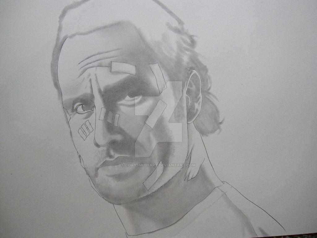 Rick Grimes WIP I by corysmithart