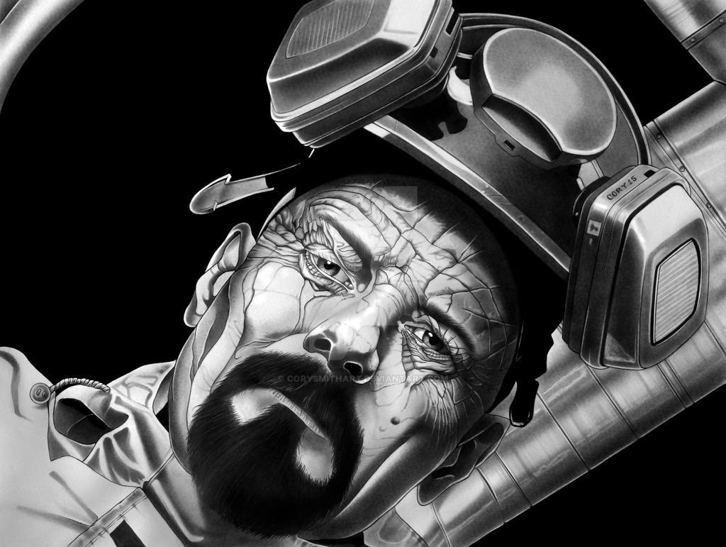 Heisenburg Final Art by corysmithart