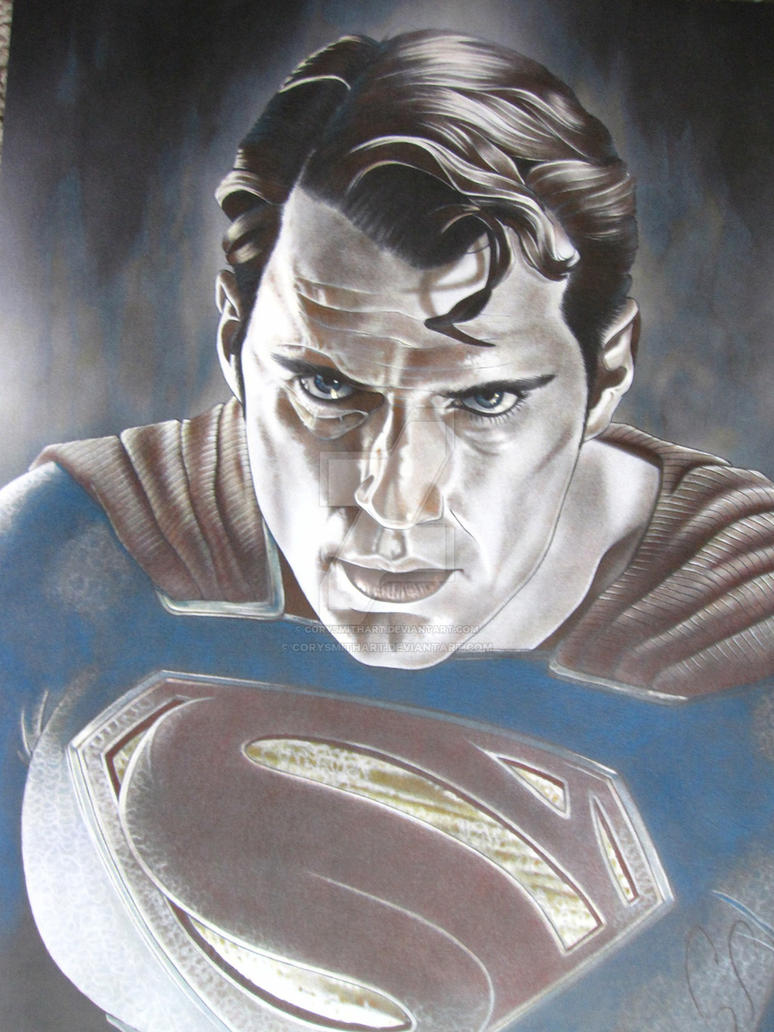 Fully Colored Superman by corysmithart