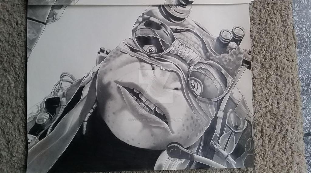 Donatello finished art by corysmithart