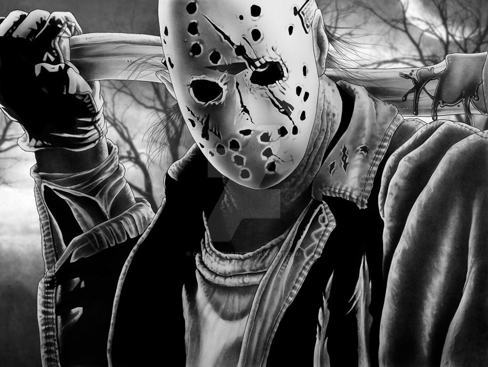 Jason Final Art by corysmithart