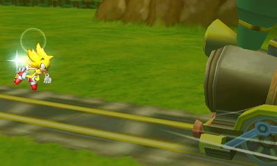 Sonic vs Train by sonicgoku24