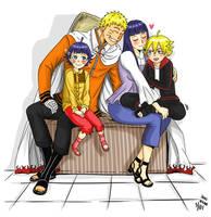 Uzumaki Family Portrait by Araitsume