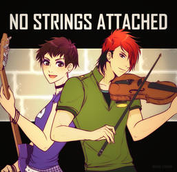 Luna Loud and Lee Ping are ''NO STRINGS ATTACHED'' by Araitsume