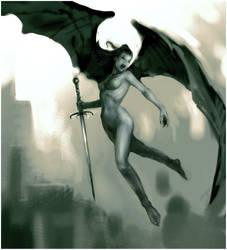_Battle Angel by vilestyle