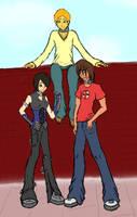 James, Alex and Connor by Sudenpentulintu
