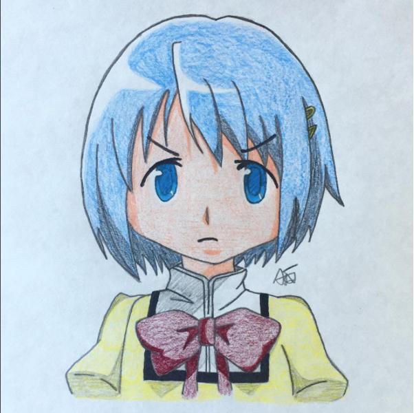 Sayaka Miki by snivellus747
