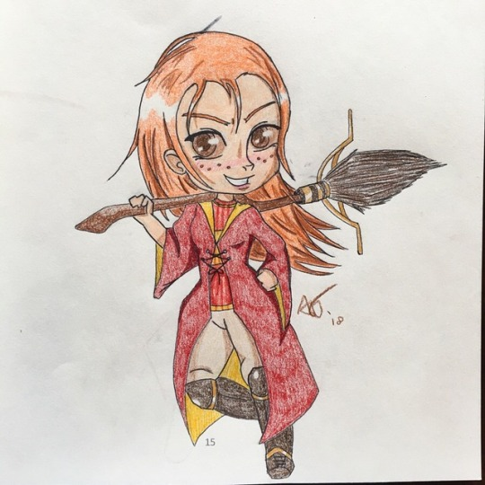 Ginny Weasley by snivellus747