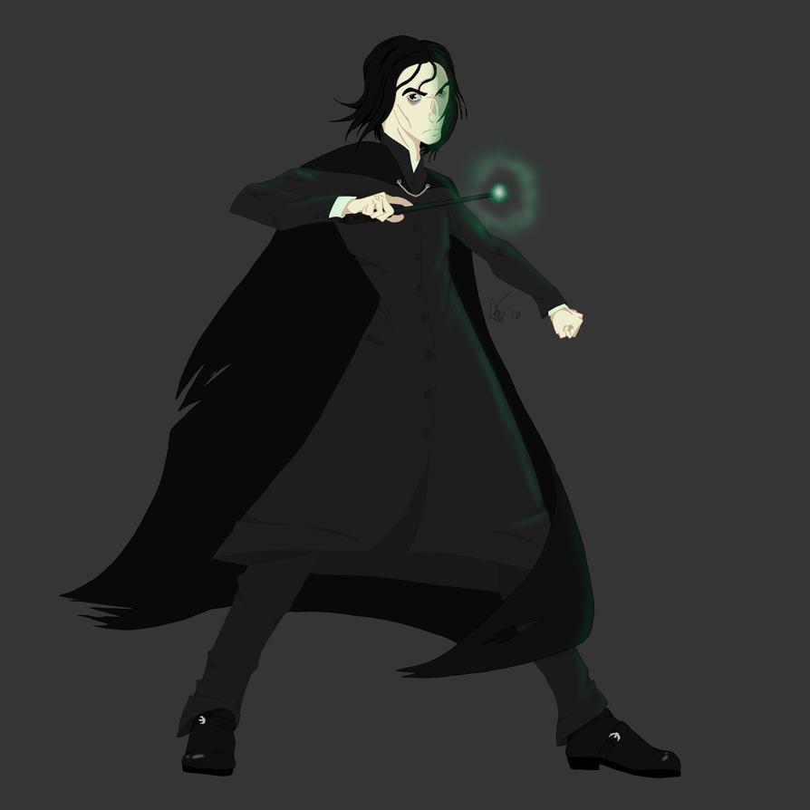 Severus Snape by snivellus747