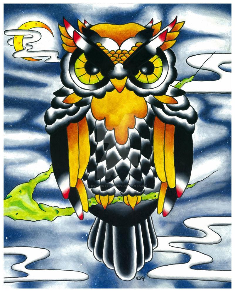 Owl by EVPresteign