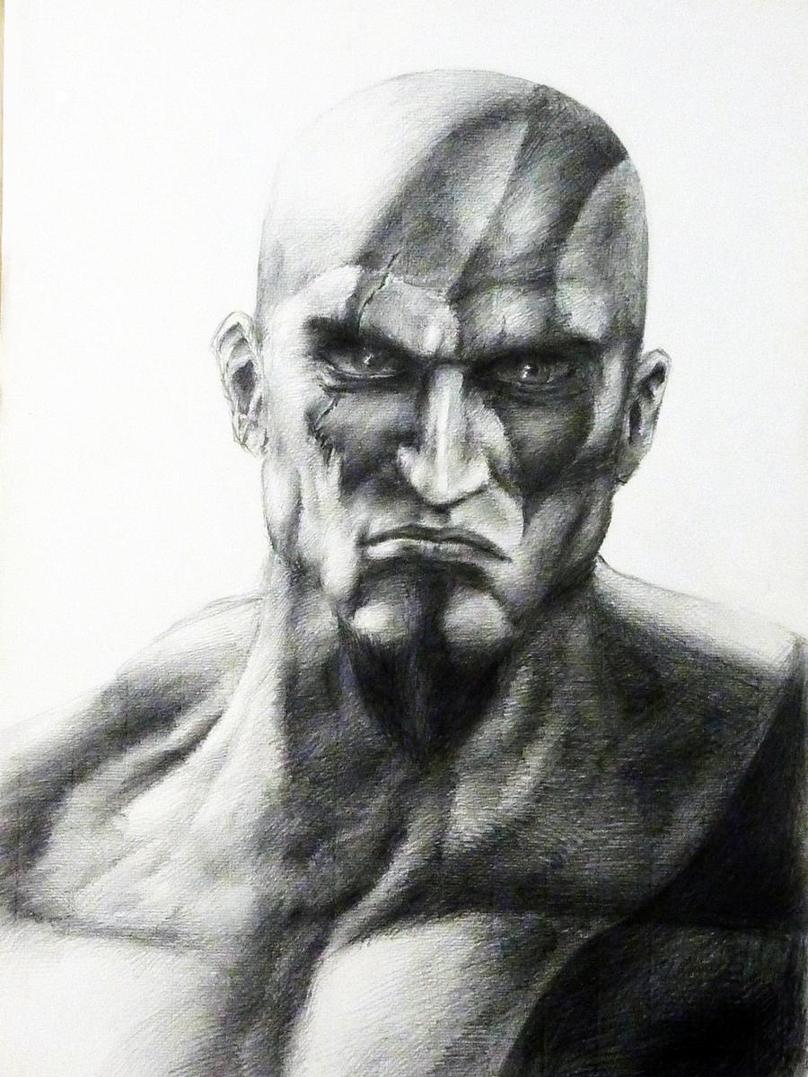 Gaze of Kratos by Impelsa