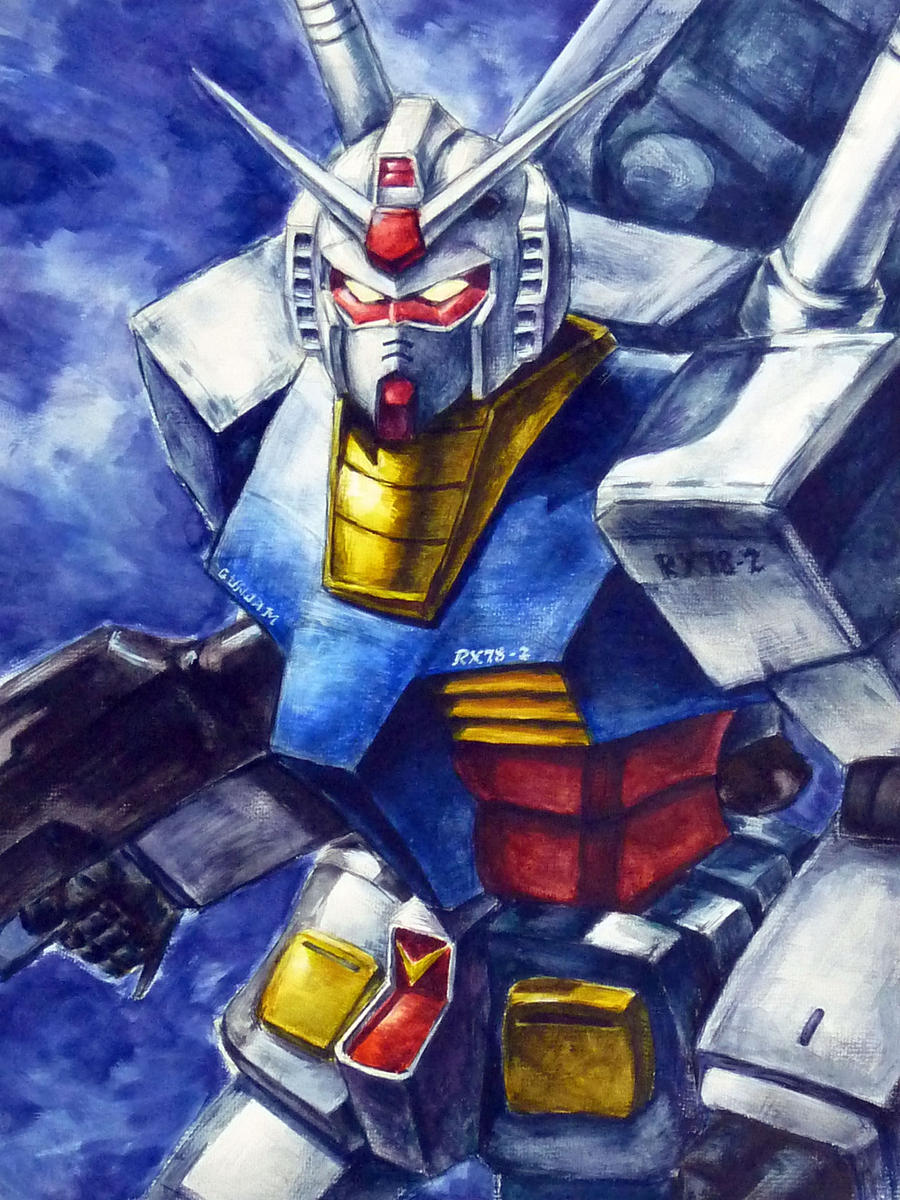 Mobile suit gundam rx 78 2 by impelsa on deviantart for Domon man 2010