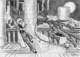 Castlevania: Aria of Sorrow by Fernoll