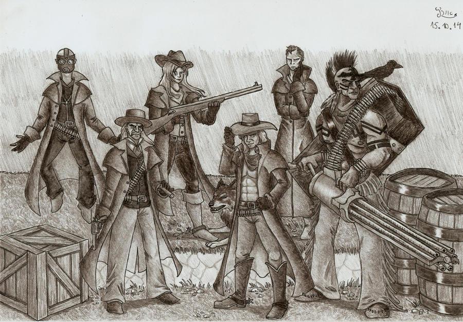 Wild west Foxhound by Fernoll