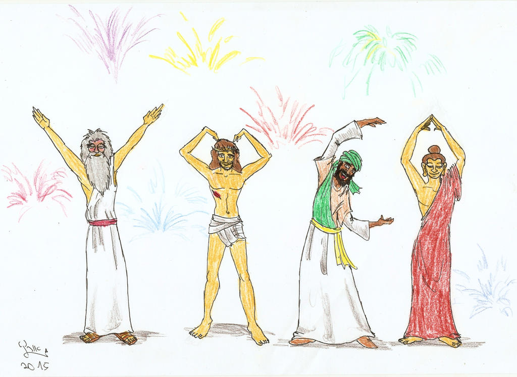 Everybody Draw Muhammad Day 2015 by Fernoll