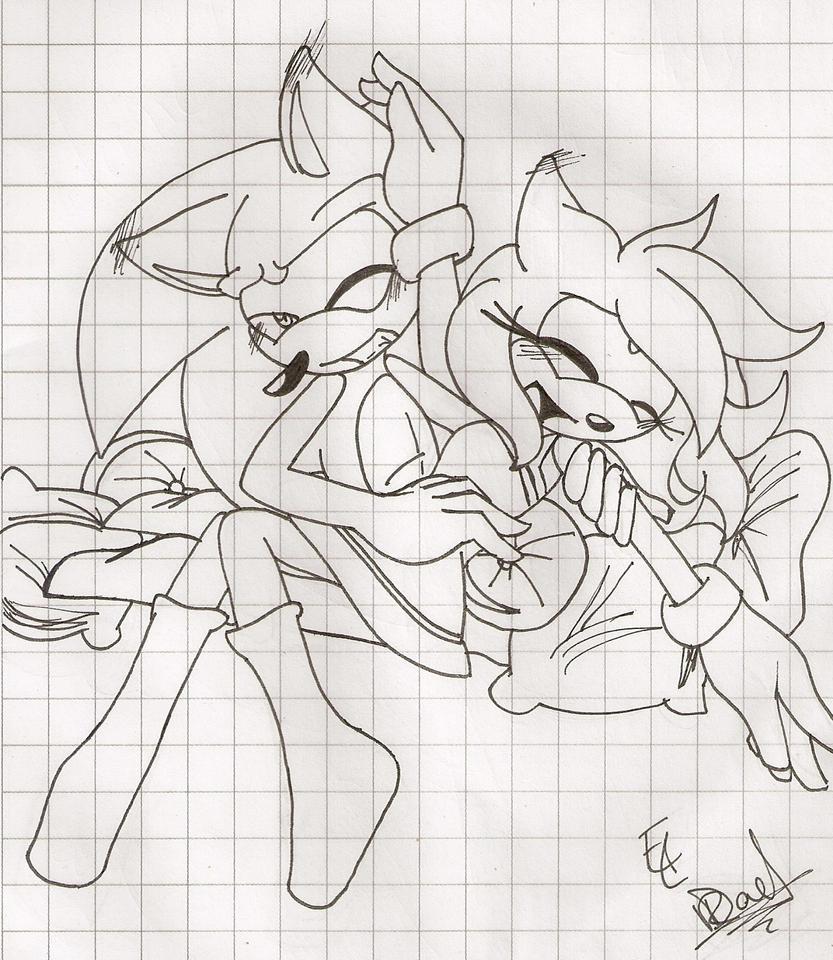 Sonic ! hahaha / SxA by Celemiau
