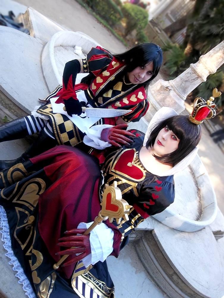 Alice x Red Queen by Norikow