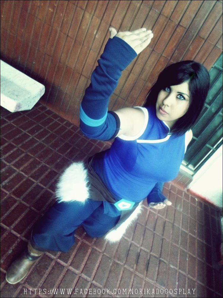 Korra Fight - The Legend of Korra by Norikow