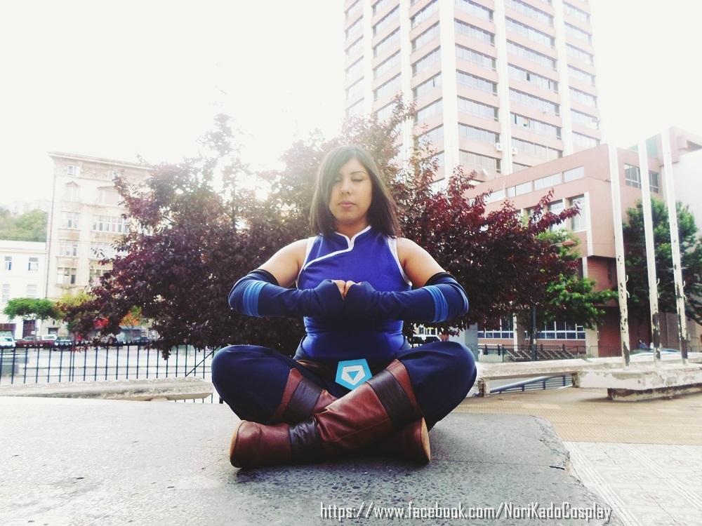 Korra Meditation by Norikow