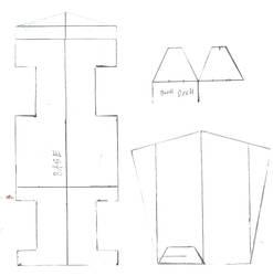 Danger Mouse Paper Craft part 2