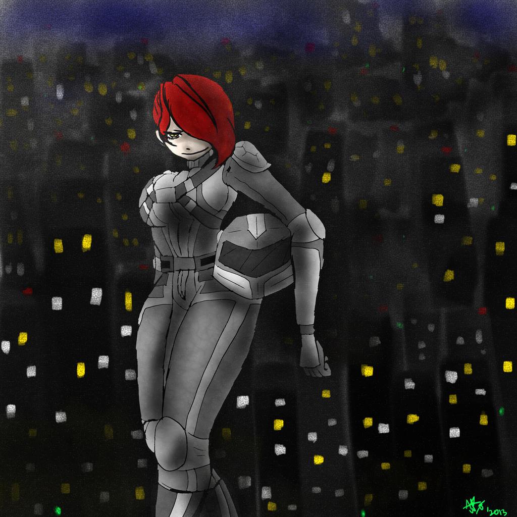 Tmnt Female Nightwatcher Raphael By Cherish Eddesire On Deviantart