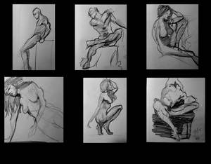1 min or less doodles