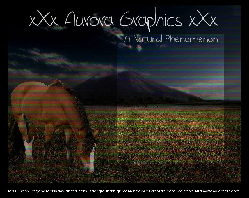 xXx Aurora Graphics xXx Entry by Recreation-09