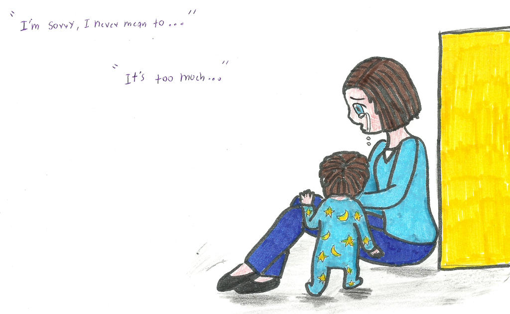 Among the sleep: mother and son by daliakoen on DeviantArt H20 Delirious Drawings