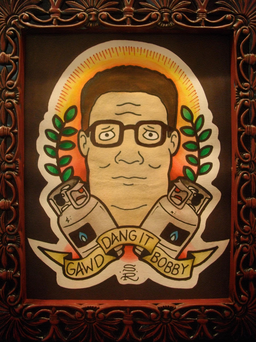 One of the best tattoos i 39 ve ever seen kingofthehill for Cheap tattoos las vegas