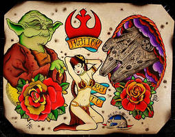 Star Wars Flash by Steve-Rieck