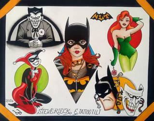 Batman Sheet with Tilt by Steve-Rieck